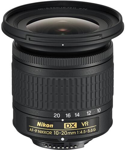 Nikon objektiv Nikkor 10-20 mm f4.5 - 5.6 G VR AF-P DX