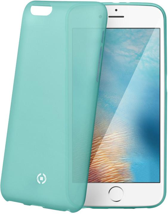 CELLY Frost pouzdro pro Apple iPhone 7 Plus, 0,29 mm, tyrkysová