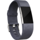 Fitbit Charge 2 Accessory Band kožený L, indigo