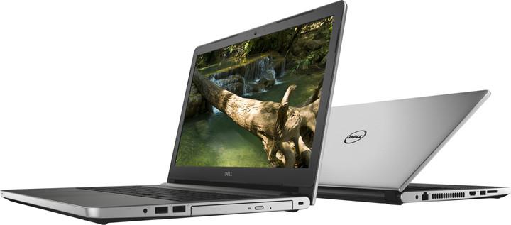 Dell Inspiron 15 (5559) Touch, stříbrná