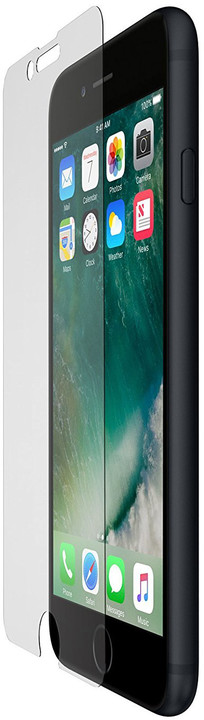 Belkin Accessory Glass 2 ochrana displeje pro iPhone 7+/8+ s instal. rámečkem