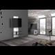 Meliconi 488301 GHOST DESIGN 3000 Sestava pro TV a komponenty k instalaci na zeď, bílá