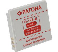 Patona baterie pro Canon, NB-4L 600mAh - PT1004