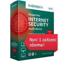 Kaspersky Internet Security multi-device 2014 CZ, 1 zařízení, 1 rok , nová licence, box