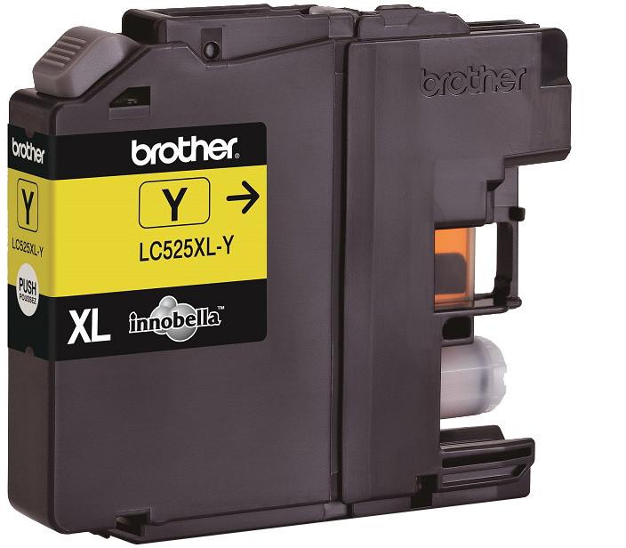 Brother LC-525XLY, žlutá