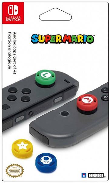 Hori Joy-Con Analog Stick Caps - Super Mario (SWITCH)