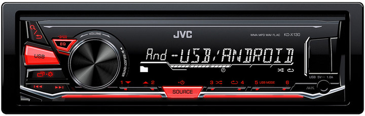 JVC KD X130