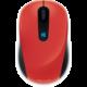 Microsoft Sculpt Mobile Mouse, červená