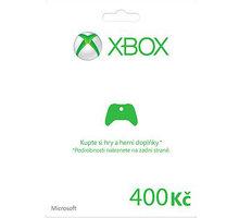 Microsoft Xbox Live dárková karta 400 Kč (elektronicky) - K4W-00055