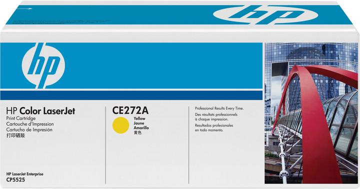 HP CE272A, žlutý