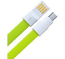 Remax datový kabel USB/micro USB, 1,2m dlouhý, zelená - AA-846