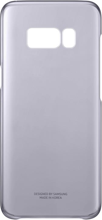 Samsung S8 poloprůhledný zadní kryt, violet