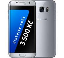 Samsung Galaxy S7 Edge - 32GB, stříbrná - SM-G935FZSAETL