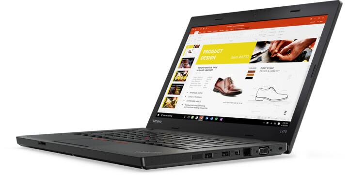 Lenovo ThinkPad L470, černá