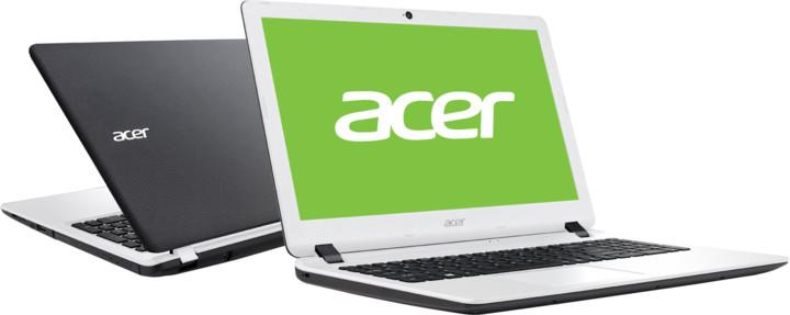 Acer Aspire ES15 (ES1-572-P9JU), bíločerná