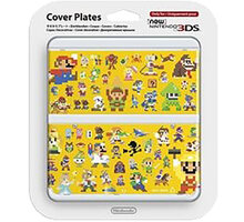 Kryt Nintendo New 3DS Cover Plate 29 (Multiplayer Characters) - NI3P11029
