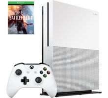 XBOX ONE S, 500GB, bílá + Battlefield 1 - ZQ9-00038