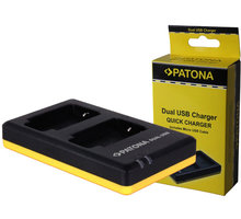 Patona nabíječka Dual Quick Sony NP-BX1 USB - PT1974