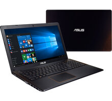 ASUS F550VX-DM587T, černá + Intel Summer 2017, 4K content and creativity bundle