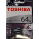 Toshiba Micro SDXC Exceria Pro M401 64GB 95MB/s UHS-I U3 + adaptér