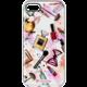 Cellularline STYLE průhledné gelové pouzdro pro Apple iPhone 7, motiv GLAM