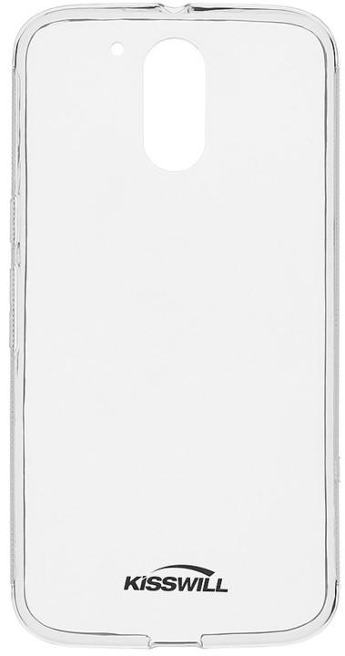 Kisswill TPU pouzdro pro Motorola G4, transparentní