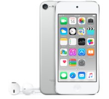 Apple iPod touch - 64GB, bílá/stříbrná, 6th gen. - MKHJ2HC/A