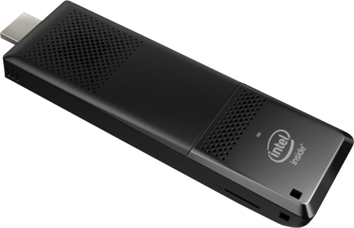 Intel Compute Stick BLKSTK2MV64CC, černá