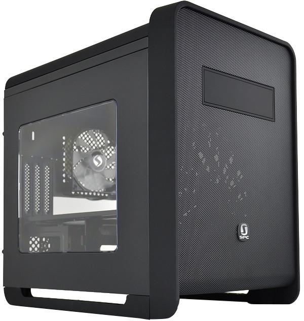 SilentiumPC Alea M50, okno, černá