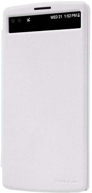 Nillkin Sparkle S-View pouzdro White pro LG V10