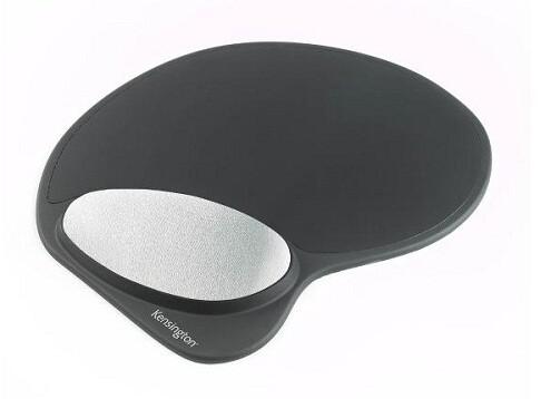 Kensington ergonomická gelová podložka pod myš - tvarovatelná, černá