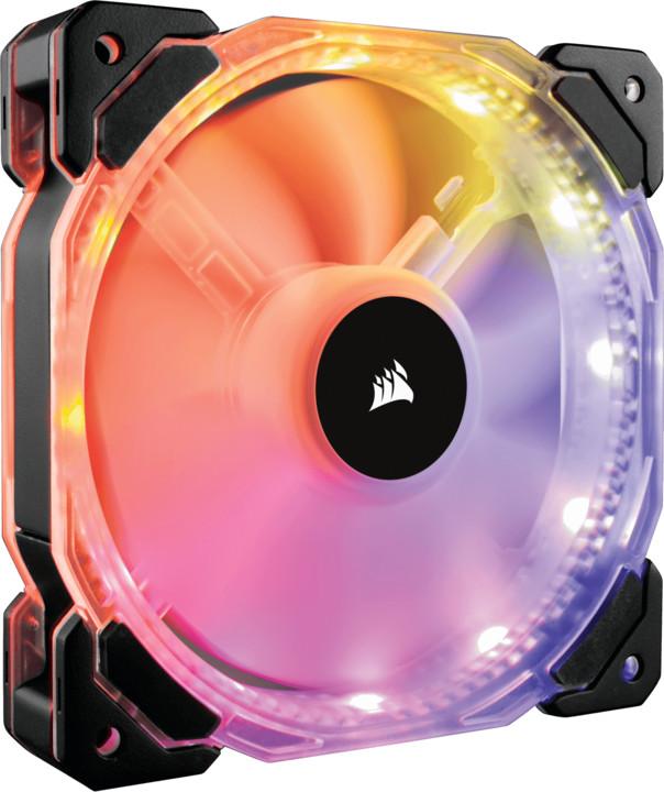 Corsair Air HD120 RGB LED High, 120mm, PWM