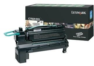 Lexmark C792A1KG, černá