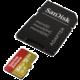 SanDisk Micro SDXC Extreme 64GB 100MB/s A1 UHS-I U3 V30 pro akční kamery + SD adaptér