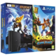 PlayStation 4 Slim, 500GB, černá + Crash Bandicoot + Ratchet & Clank