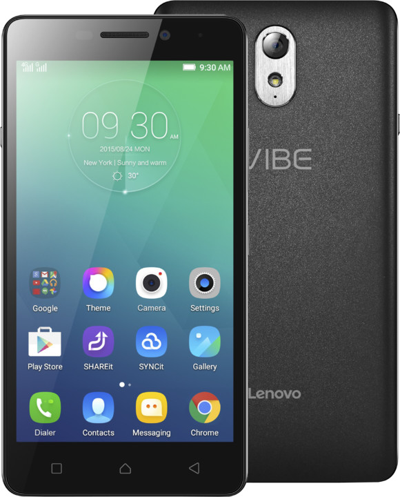 Lenovo Vibe P1m, LTE, černá
