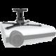Meliconi 480803 PRO 100 Stropní držák videoprojektoru, černá