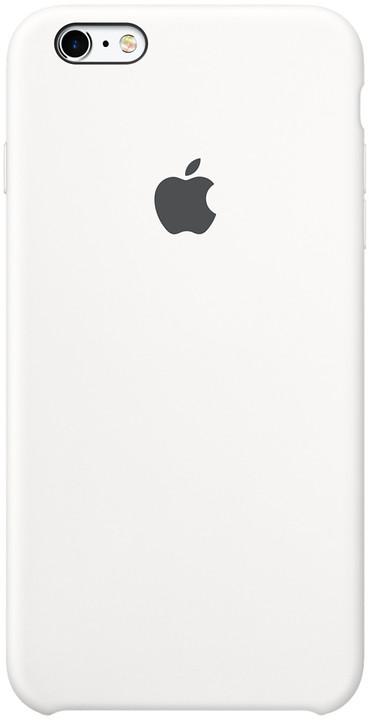 Apple iPhone 6s Silicone Case, bílá