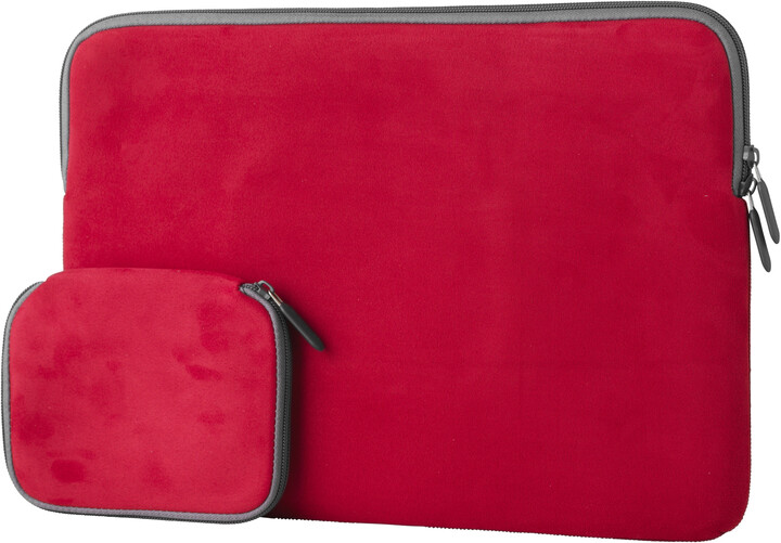 "eSTUFF Sleeve for MacBook 15"" - Red"