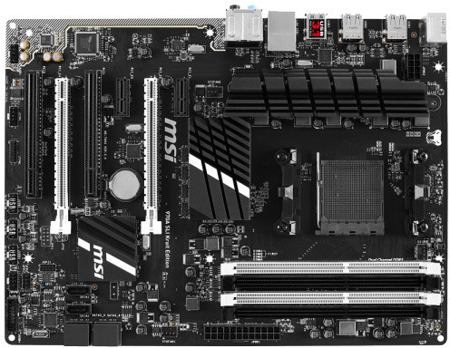 MSI 970A SLI Krait Edition - AMD 970