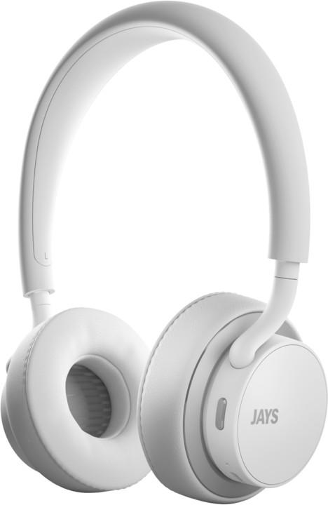 JAYS u-Jays Wireless, bílo-stříbrná