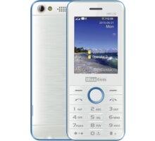 Maxcom Classic MM136, Dual Sim, bílo/modrá - MM136WH/BLDS