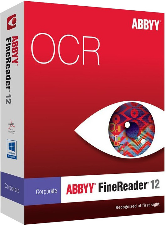 ABBYY FineReader 12 Corporate / ESD / Concurrent use / Vol. purchase (6-10 lic.) Upgrade