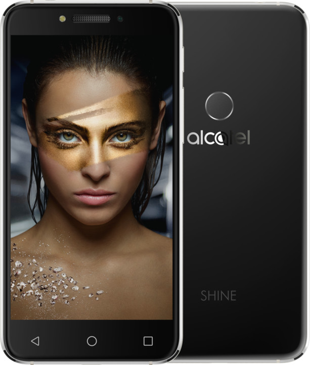 ALCATEL SHINE Lite, černá