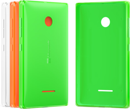 Microsoft kryt CC-3096 pro Lumia 435/532, zelená