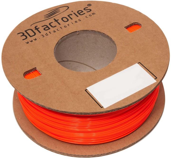 3D Factories tisková struna ABS červená 1,75mm 1Kg