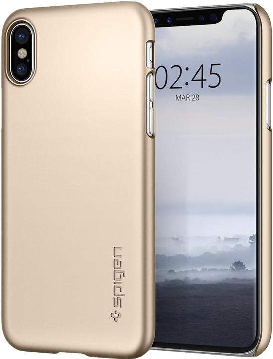 Spigen Thin Fit iPhone X, gold