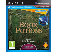 Wonderbook: Book of Potions (CZ) + Move Pack - PS3 - PS719210993