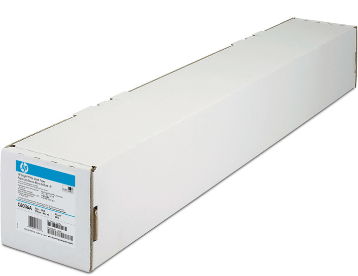 "HP Bright White Inkjet Paper, role 36"", 80 g/m2, 45m"