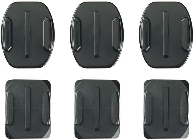 GoPro Curved + Flat Adhesive Mounts (Zakřivené + ploché samolepící držáky)